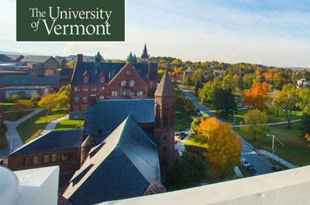 Đại học Vermont nổi tiếng tại Hoa Kỳ