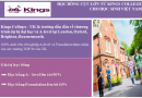 Kings Colleges, UK – Con đường chuyển tiếp vào các trường Đại học Top 30 Anh Quốc