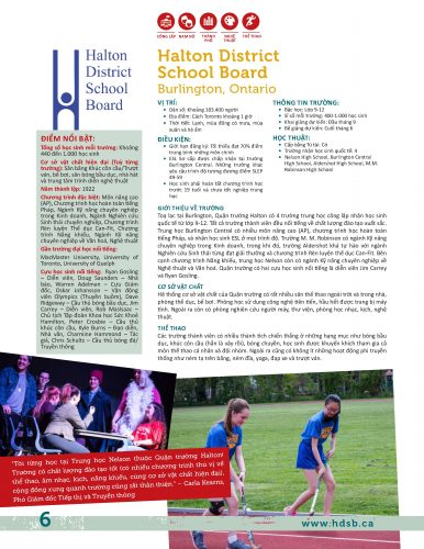 Halton District School Board, Burlington, Ontario, Canada