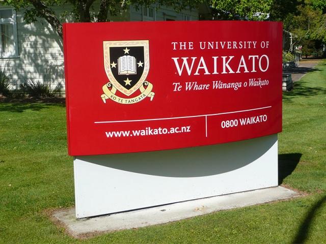 Học bổng 50% chương trình dự bị đại học tại đại học WAIKATO, New Zealand.