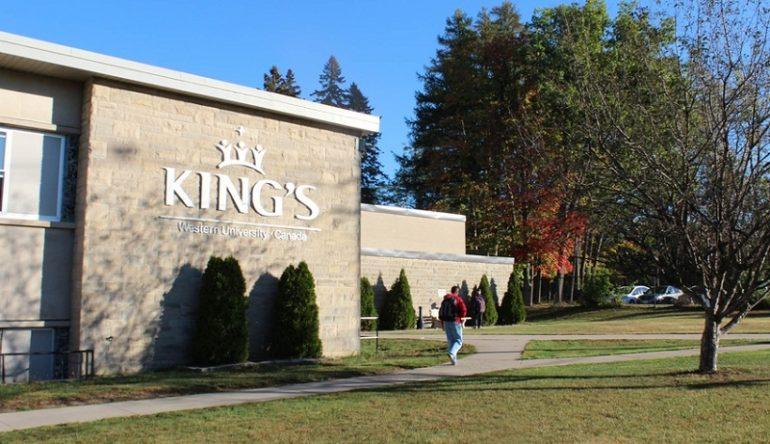 Du học tại Trường đại học King's thuộc Đại học western thuộc bang ontario- top 5 tại canada.